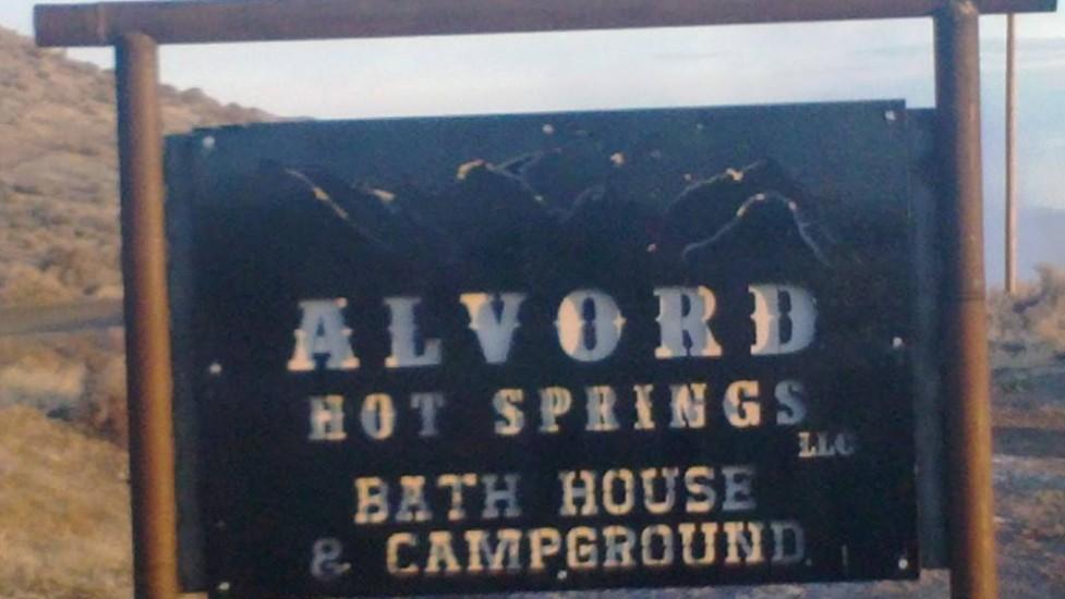 Alvord Hot Springs Sign